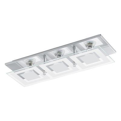 Lámpara de techo acero Almana blanco