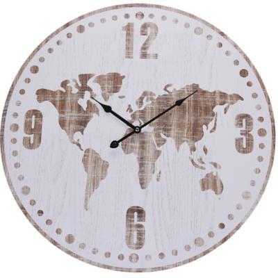 Reloj mapa mundo 60 cm