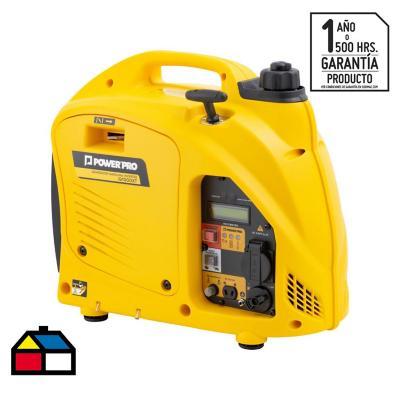 Generador eléctrico inverter a gasolina 1000 W