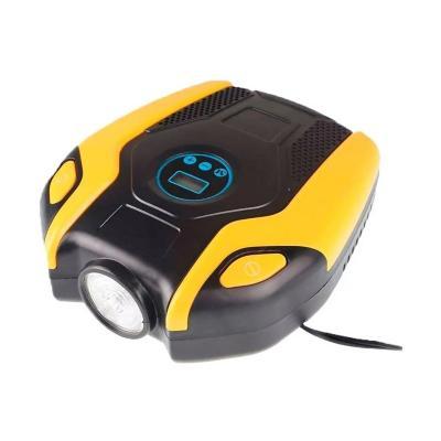 Compresor aire digital portátil con luz 150 psi