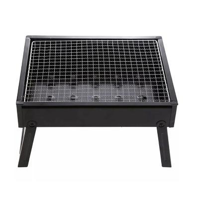 Parrilla para asados portátil a carbón plegable