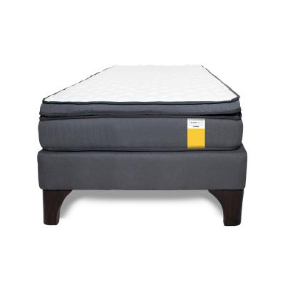 Cama europea eurotop 1 plaza long