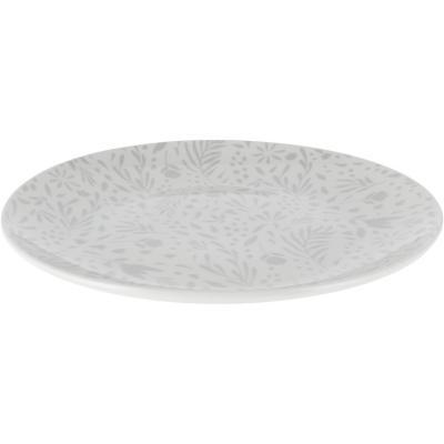 Plato comida Swint diseño gris
