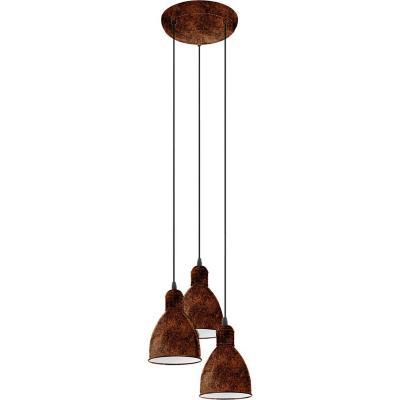 Lámpara de colgar acero Priddy cobrizo