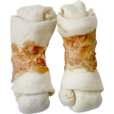 """Snack  huesos c/pollo  4-5"""" 2 unidades"""