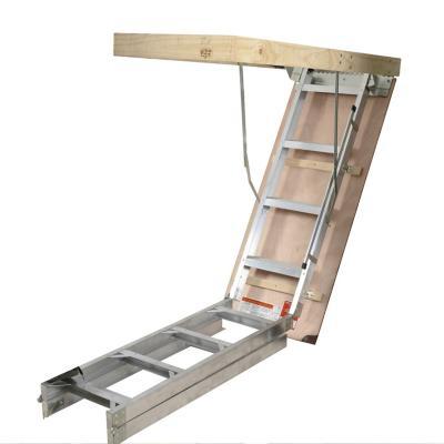 Escalera ático aluminio 63x135 cm