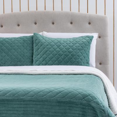 Quilt Flanel con Sherpa Ice 2 Plazas