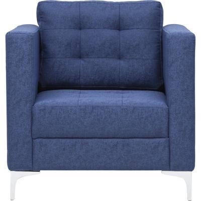 Sofá 1 cuerpo 74x83x86 cm azul