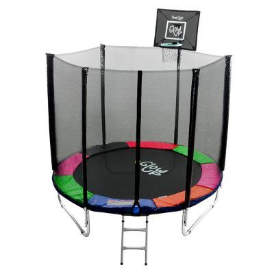 Cama elástica 6ft 1,83mt  + set basketball glowup