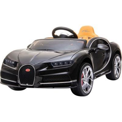 Auto a batería Bugatti negro