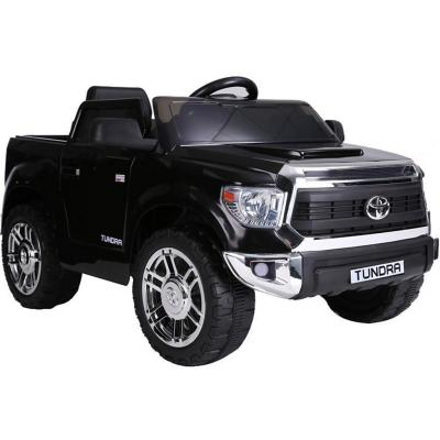 Camioneta tundra a batería negro