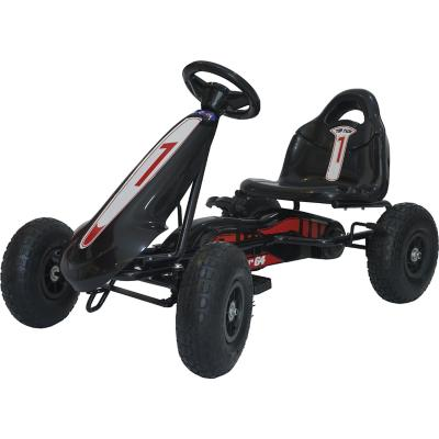 Go Kart a pedales negro