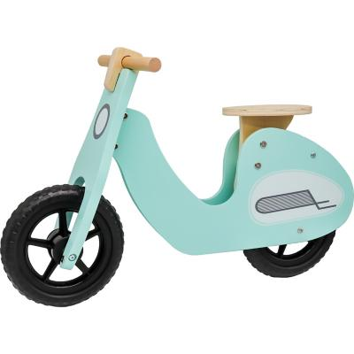 Bicicleta de aprendizaje tipo Vespa en madera aro 12