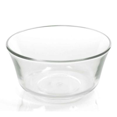 Compotera 5x10,5 cm transparente vidrio