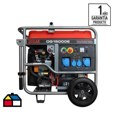 Generador eléctrico a gasolina 12000 W