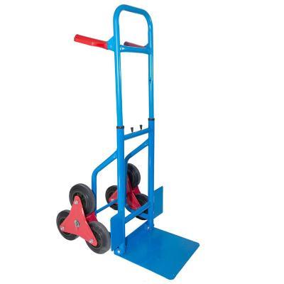 Carro de carga sube escaleras hasta 120 kg azul