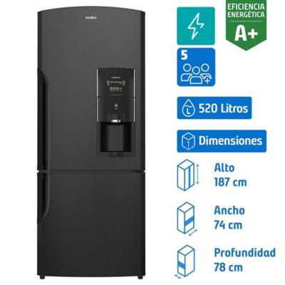 Refrigerador 520 litros no frost bottom freezer