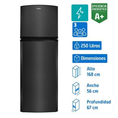 Refrigerador 250 litros no frost top freezer