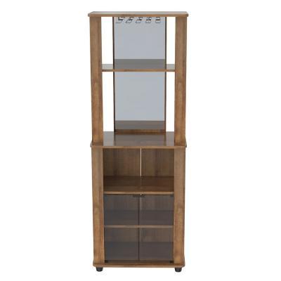 Mueble bar 165x60x40 cm café