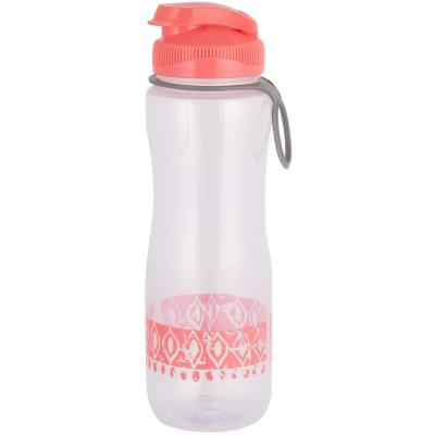 Botella plástica rosada 0,7 l