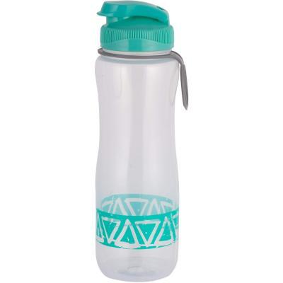 Botella plástica turqueza 0,7 l