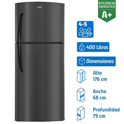 Refrigerador 400 litros no frost top freezer