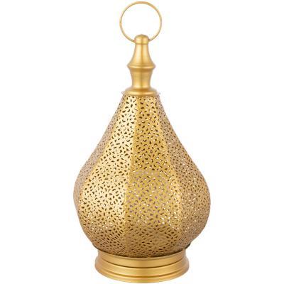 Farol led dorado 32 cm