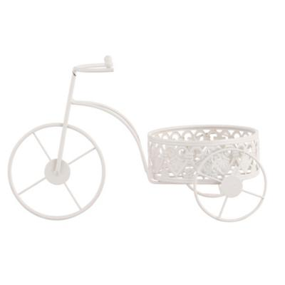 Bicicleta metal macetas 30 cm