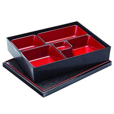 Bandeja box oriental 27x21 cm