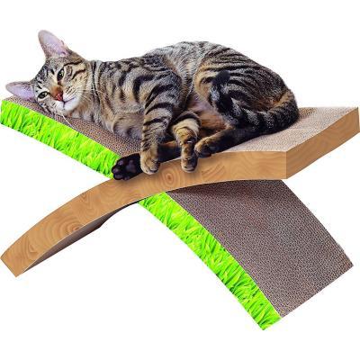 Rascador para gato 1 nivel gris