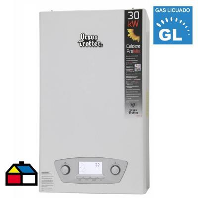 Caldera de condensación ut pre-mix ut pmc30-tfe gas licuado