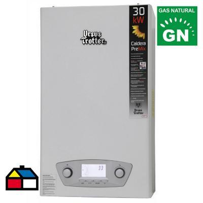 Caldera de condensación ut pre-mix ut pmc30-tfe gas natural