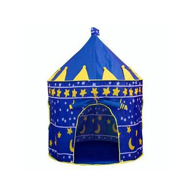 Carpa infantil tipo castillo azul