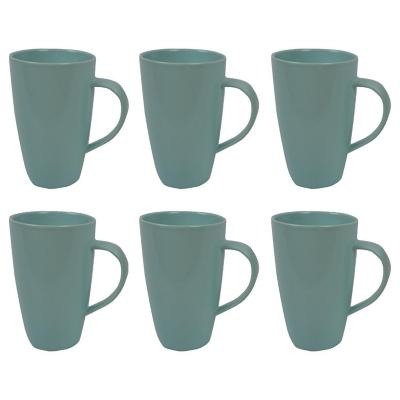 Set 6 mugs 700 cc turquesa