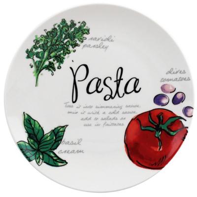 Plato de ensalada 19 cm Tomate