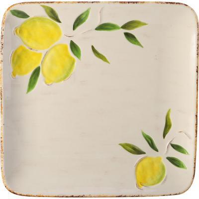 Plato de comida 26 cm Limón