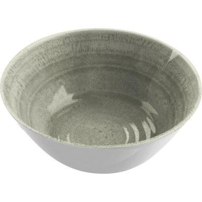 Bowl melamina taupe 15 cm Medallión