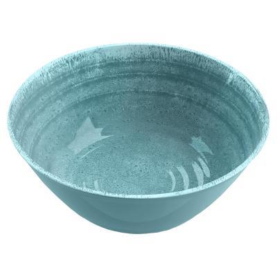 Bowl melamina turquesa 15 cm Medallión