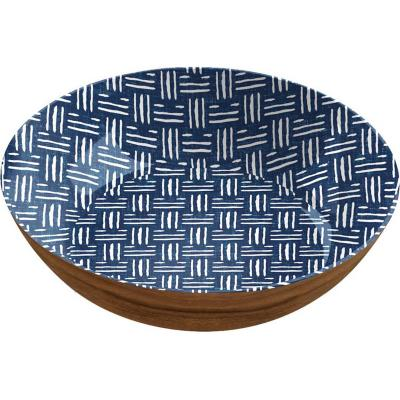 Bowl melamina 30,4 cm Blue & Wood