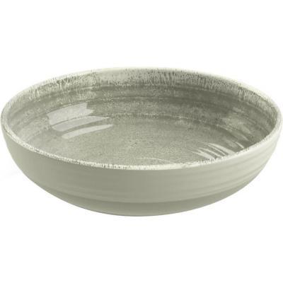 Bowl melamina taupe 20,4 cm Medallión