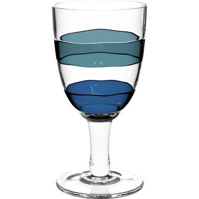 Copa acrílico Anillos azul