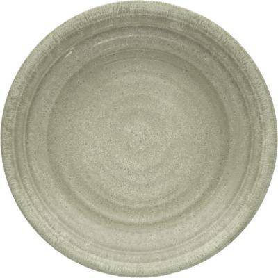 Plato melamina taupe 21,6 cm Medallión
