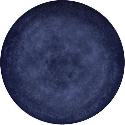 Plato melamina 22,3 cm Blue & Wood