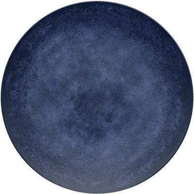 Plato melamina 26,7 cm Blue & Wood