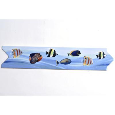 Listel peces 7x33 cm