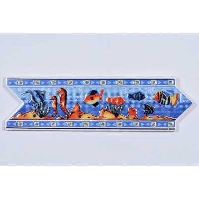 Listel acuarios 8*25