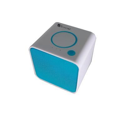 Parlante cubo mini sp 009 celeste