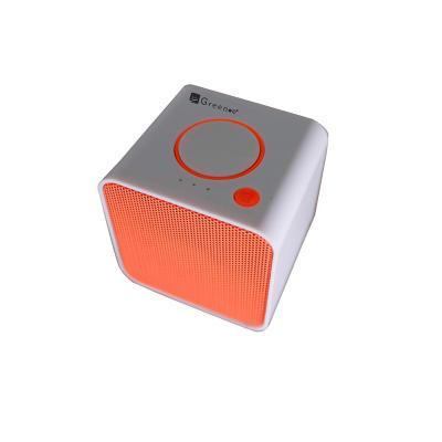 Parlante cubo mini sp 009 naranja