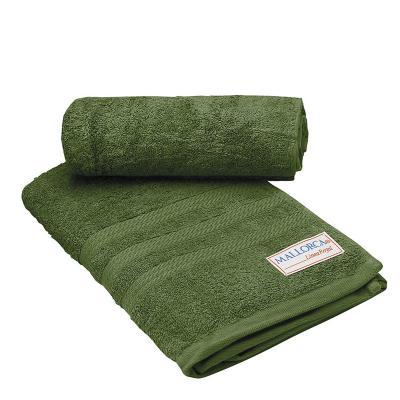 Juego de toallas de baño grecco verde oliva