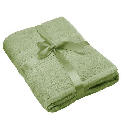 Toallón de baño grecco verde